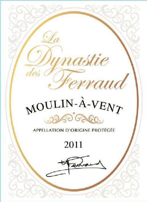 Étiquette Domaine Ferraud