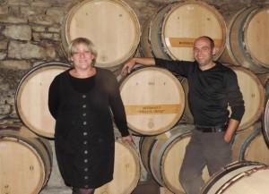 Maud et Marc du Domaine Alain Patriarche